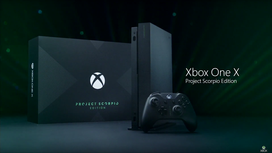 pre order open for xbox one x project scorpio and xbox one s