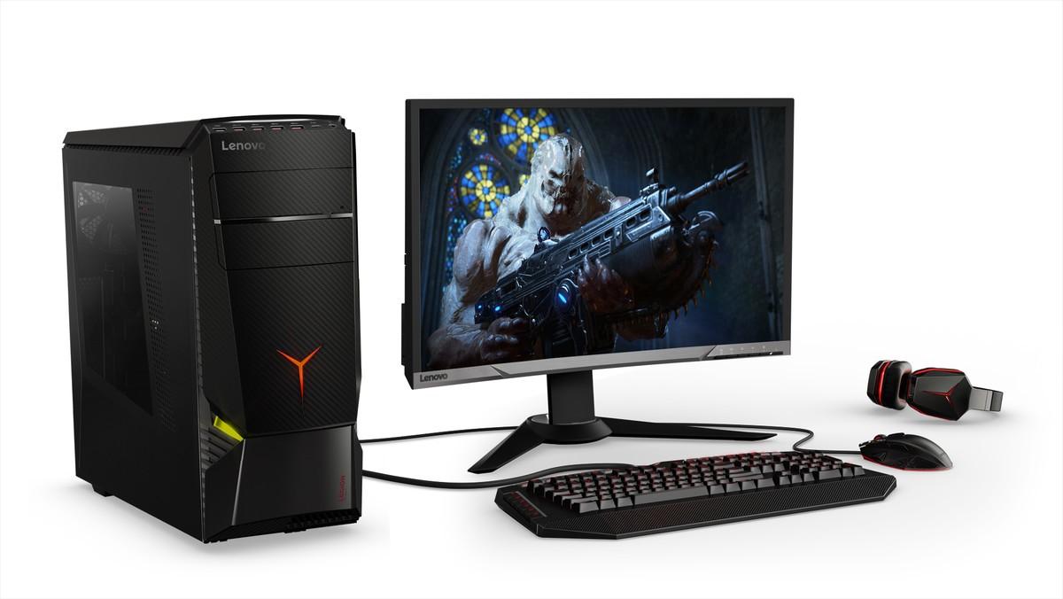 three new lenovo legion gaming desktops with corsair as. Black Bedroom Furniture Sets. Home Design Ideas