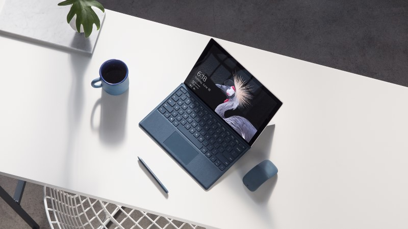 online retailer starts pre orders for the surface pro 2017 lte edition before it is officially. Black Bedroom Furniture Sets. Home Design Ideas