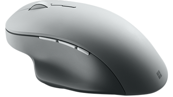 Video shows off the Microsoft Surface Precision Mouse, the company's