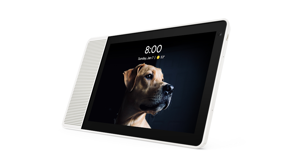 The Lenovo Smart Display is a tabletop tablet and Google