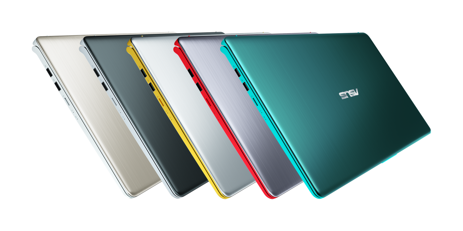 The colorful Asus VivoBook S15 (S530) and S14 (S430) get a