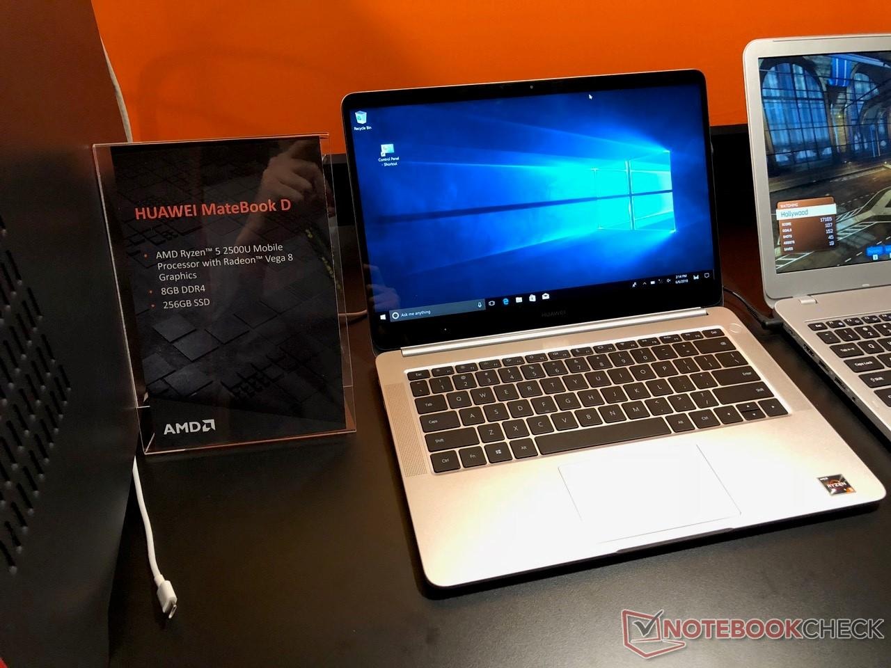 The Huawei MateBook D gets an unexpected refresh to include the