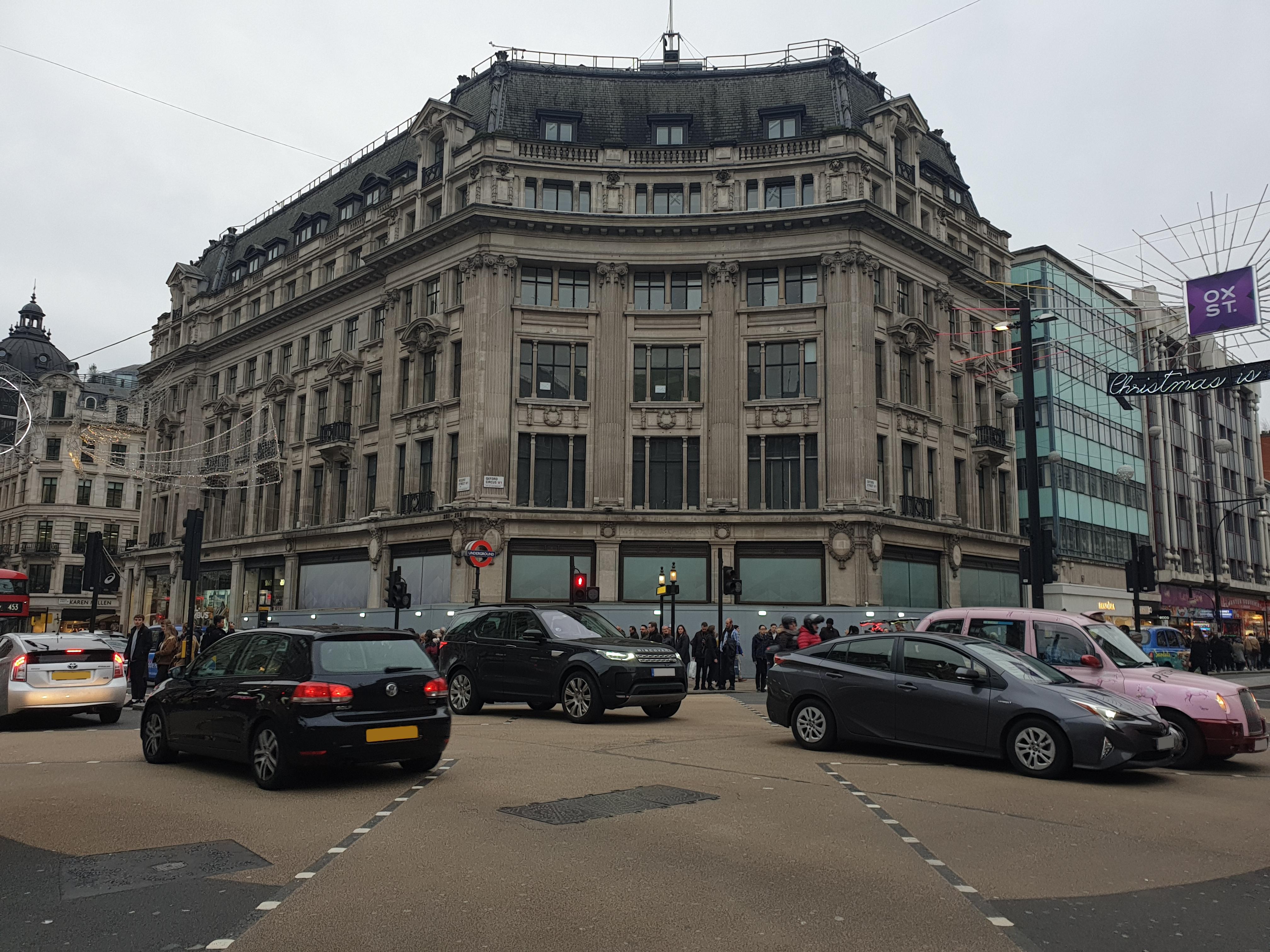 microsoft u0026 39 s london flagship store is slowly taking shape