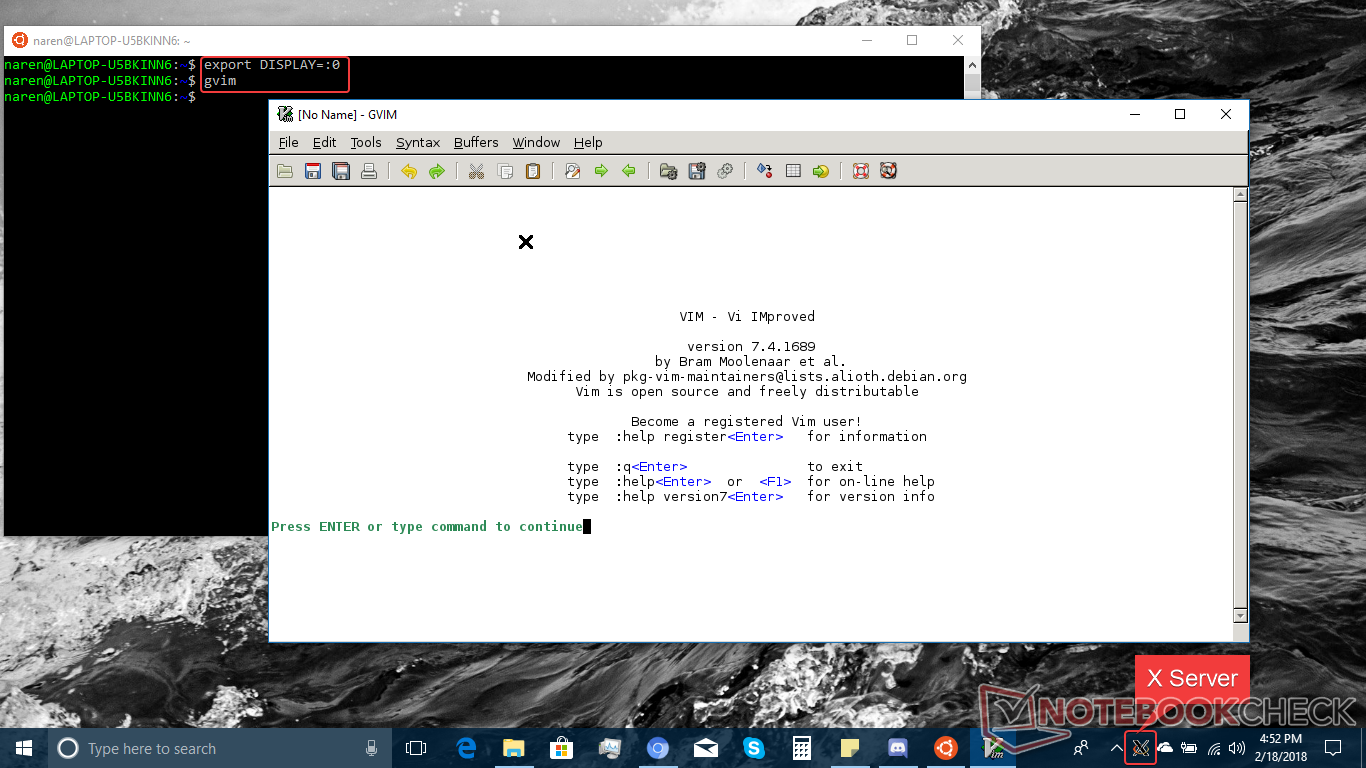 How to run Linux binaries natively in Windows 10