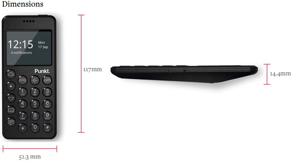 The Punkt Mp02 Is A Usd 349 Dumbphone Notebookcheck Net
