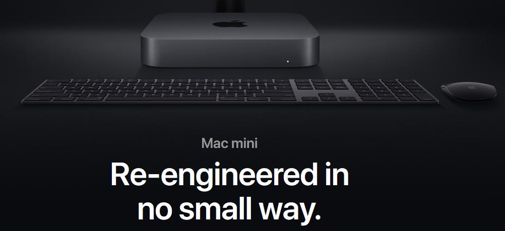 Apple overhauls the Mac Mini with 8th gen Intel CPUs, Thunderbolt 3