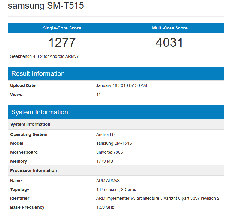 Galaxy S10 benchmark hints at 6GB RAM for the base model