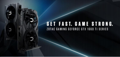ZOTAC announces compact ZOTAC GAMING GeForce GTX 1660 Ti and