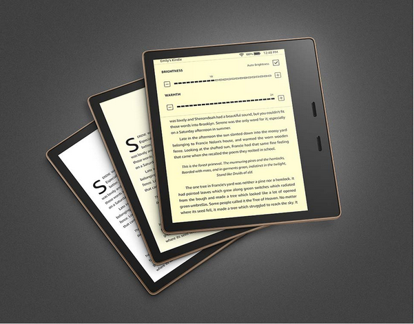 Amazon unveils new Kindle Oasis with adjustable color
