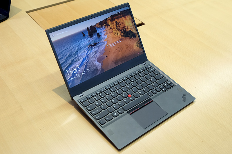 Lenovo ThinkPad X1 Carbon prototype: Current model was initially