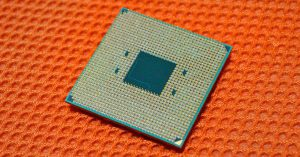 AMD Athlon 300GE. (Image source: ChipHell)