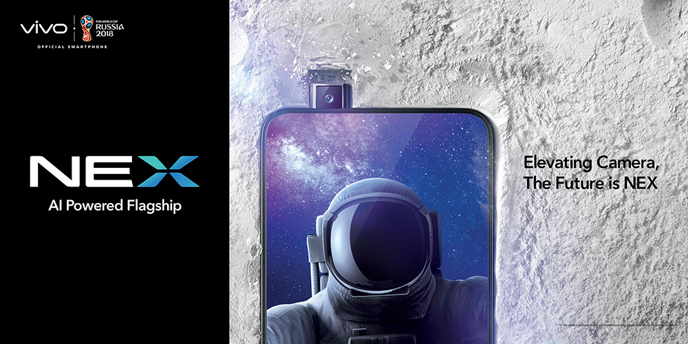 Future Phones! Vivo Unleashes The Vivo Nex Smartphone