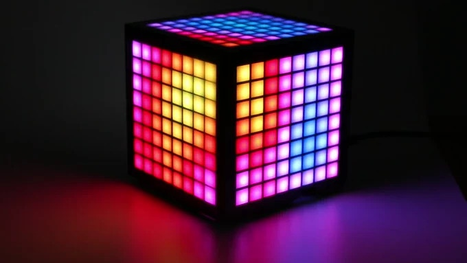 <p>LumiCube: A case for the Raspberry Pi with 192 LEDs, an IPS Screen and various sensors thumbnail