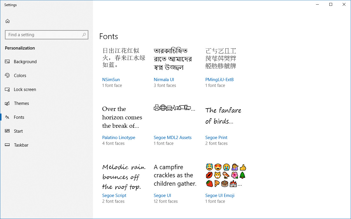 how to download fonts windows 10