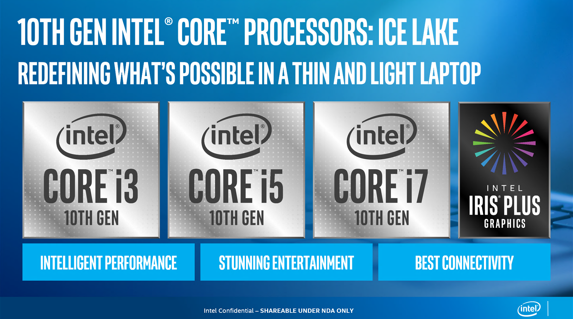 Intel debuts 10th Gen processors