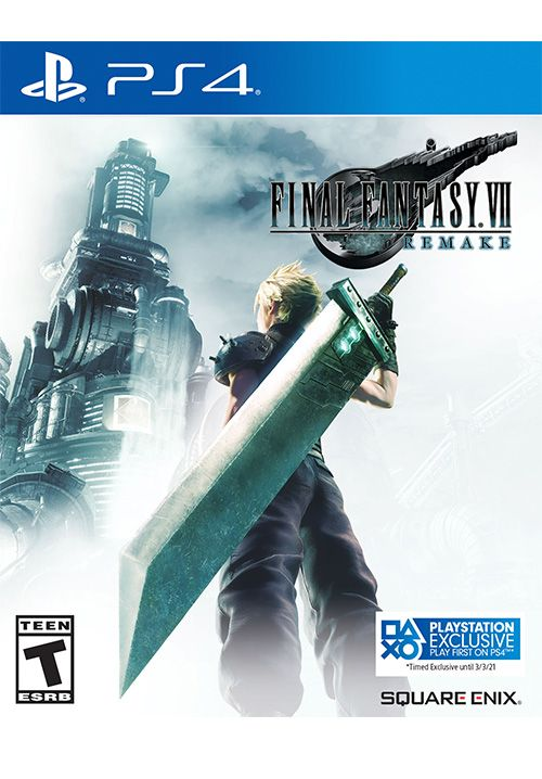 FFVII Remake box art indicates timed exclusivity (Image source: Square Enix)