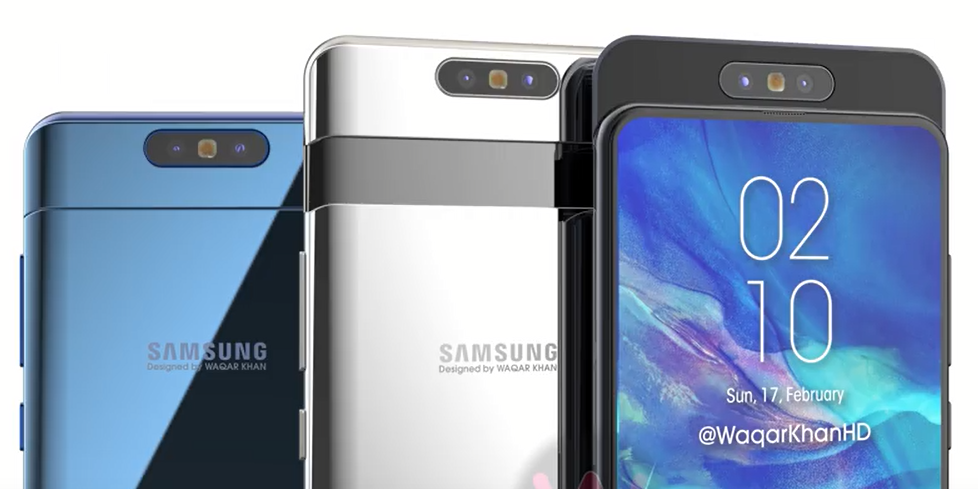 Samsung Galaxy A90 Specifications Leak Tips Snapdragon 7150 SoC, 25W Fast Charging