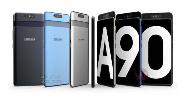 "Could the Samsung Galaxy A90 be the ""creative"" smartphone in question? (Image source: Warta Batavia)"