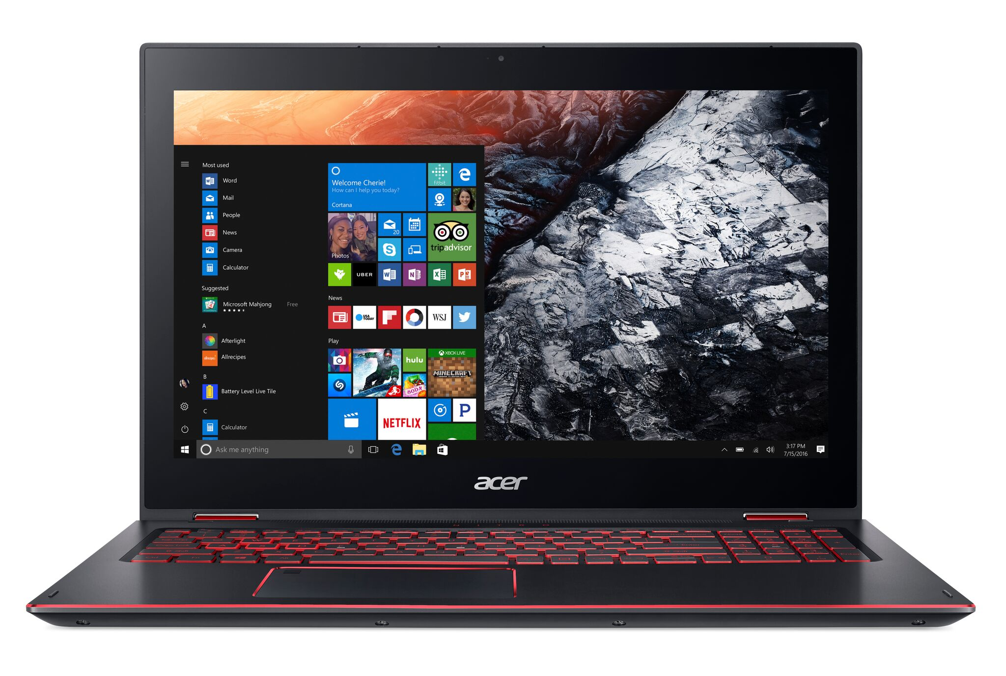 acer reveals convertible nitro  spin notebook  casual gamers notebookchecknet news