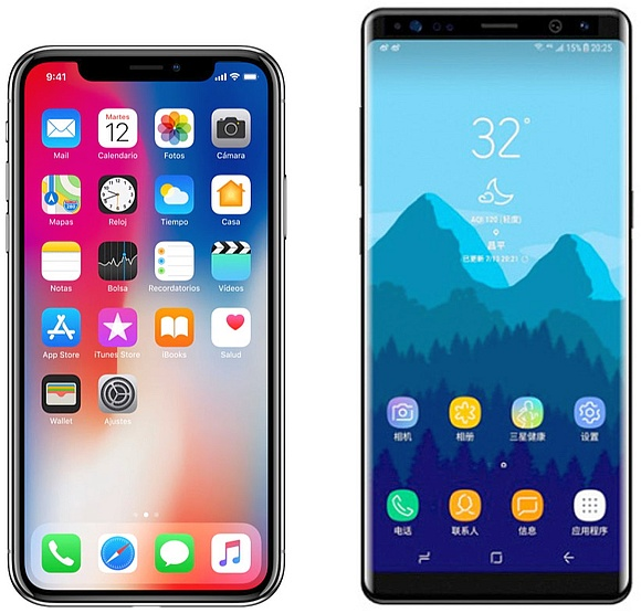 Calendario Samsung.The Samsung Galaxy Note 8 Is Faster Than Apple S Iphone X