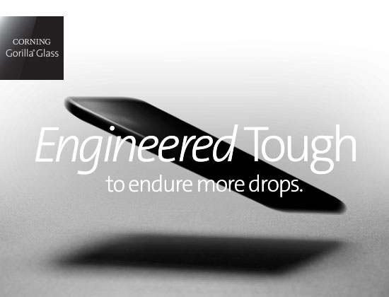Corning designed Gorilla Glass 6 to survive multiple drops