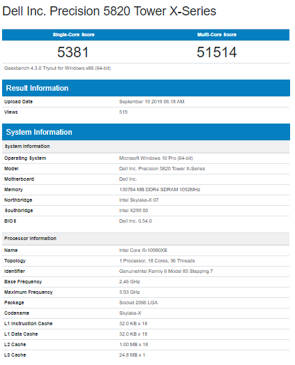 (Image source: Geekbench via @momomo_US)