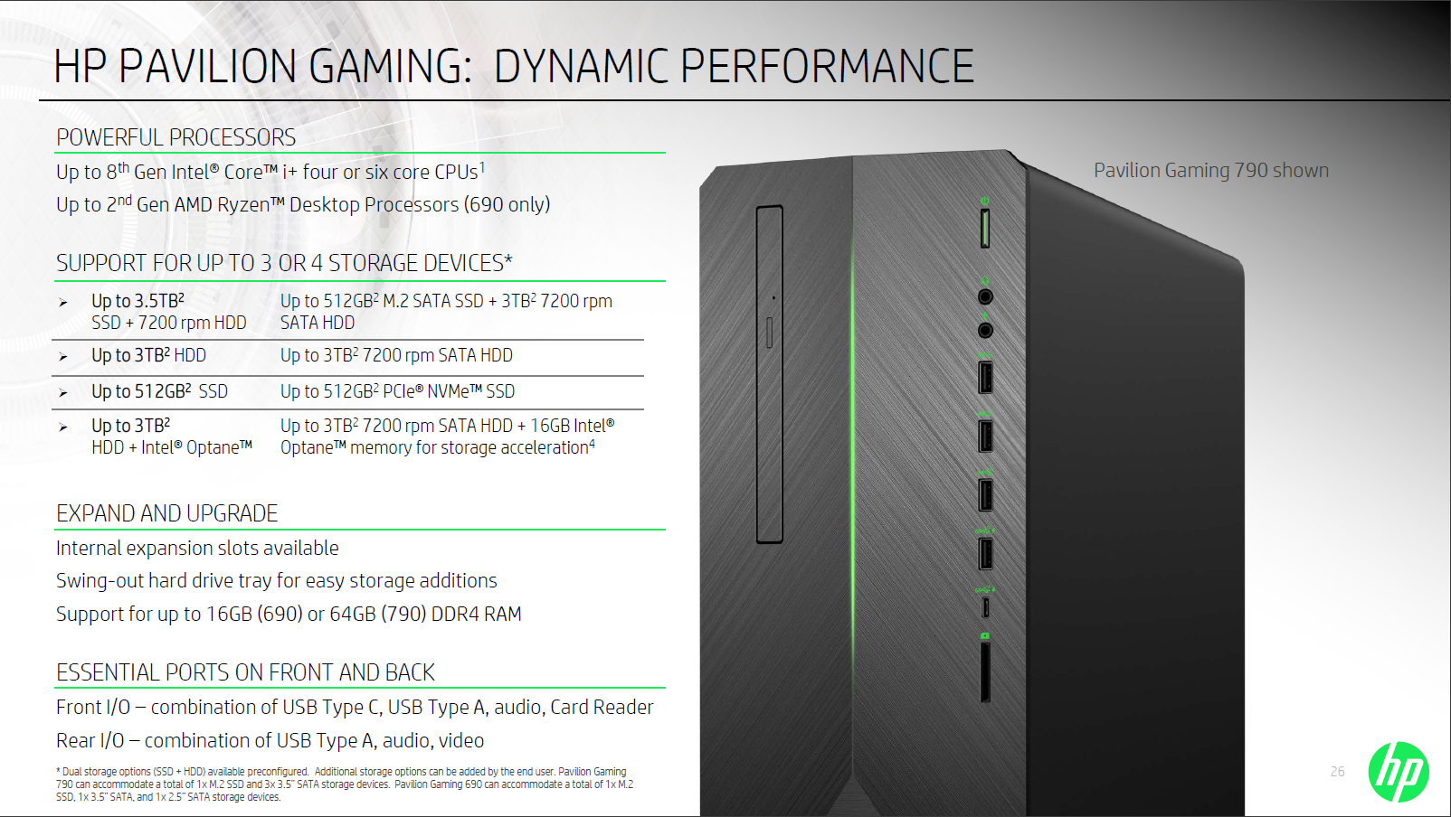 HP Pavilion Gaming Desktops Are Here With New Intel