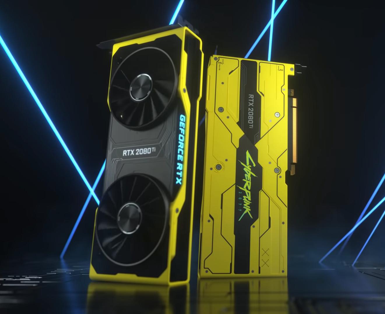 NVIDIA выпускает лимитированную серию GeForce RTX 2080Ti Cyberpunk 2077 Edition
