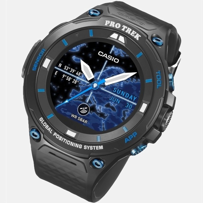 60fd4decfa4 Casio unveils Pro Trek Smart WSD-F20S limited edition watch ...