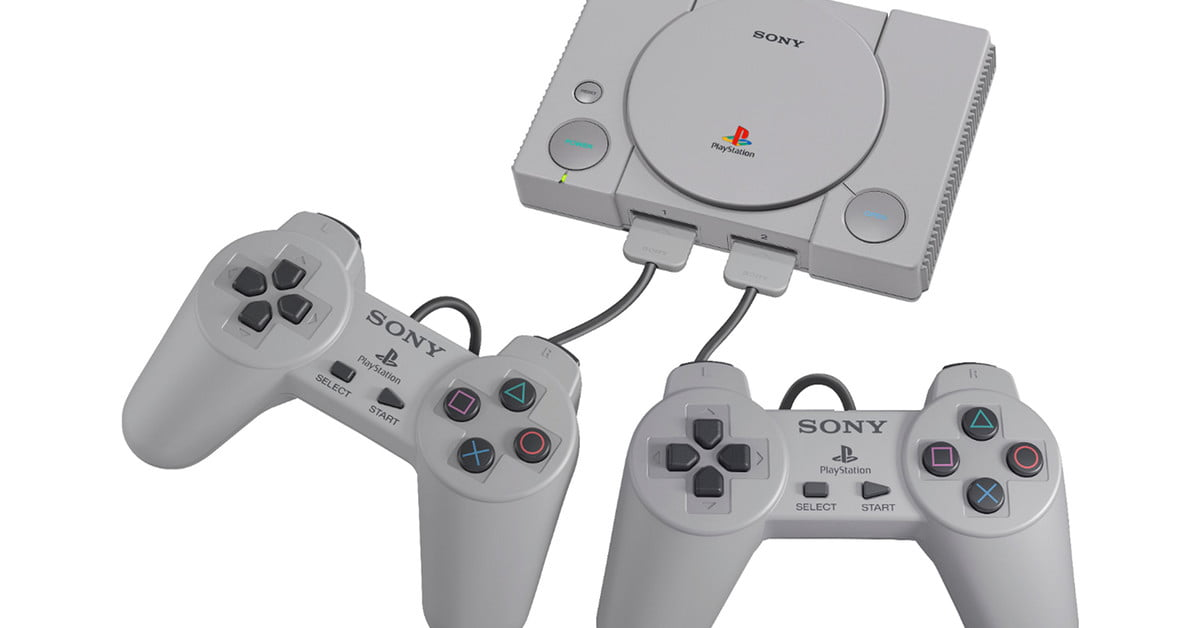 Hacked PlayStation Classic plays games from USB flash drive