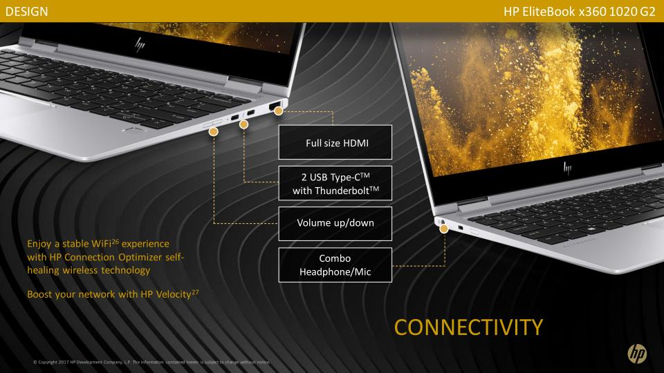 The new HP EliteBook 1020 G2 and 1040 G4 are the brightest business