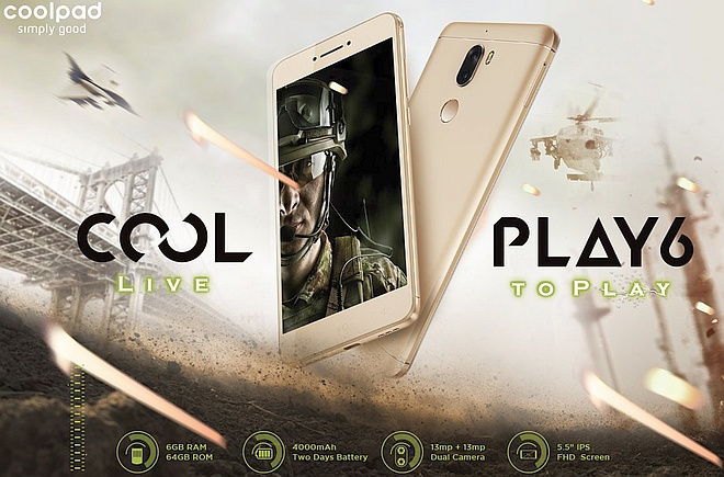 Coolpad Cool Play 6 flagship coming to India next month