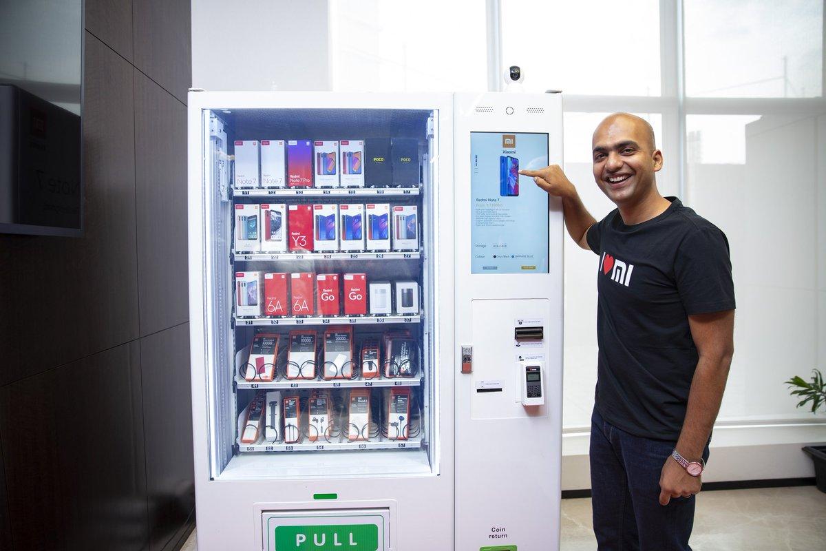 Beli Ponsel Xiaomi di India Bisa Lewat Vending Machine