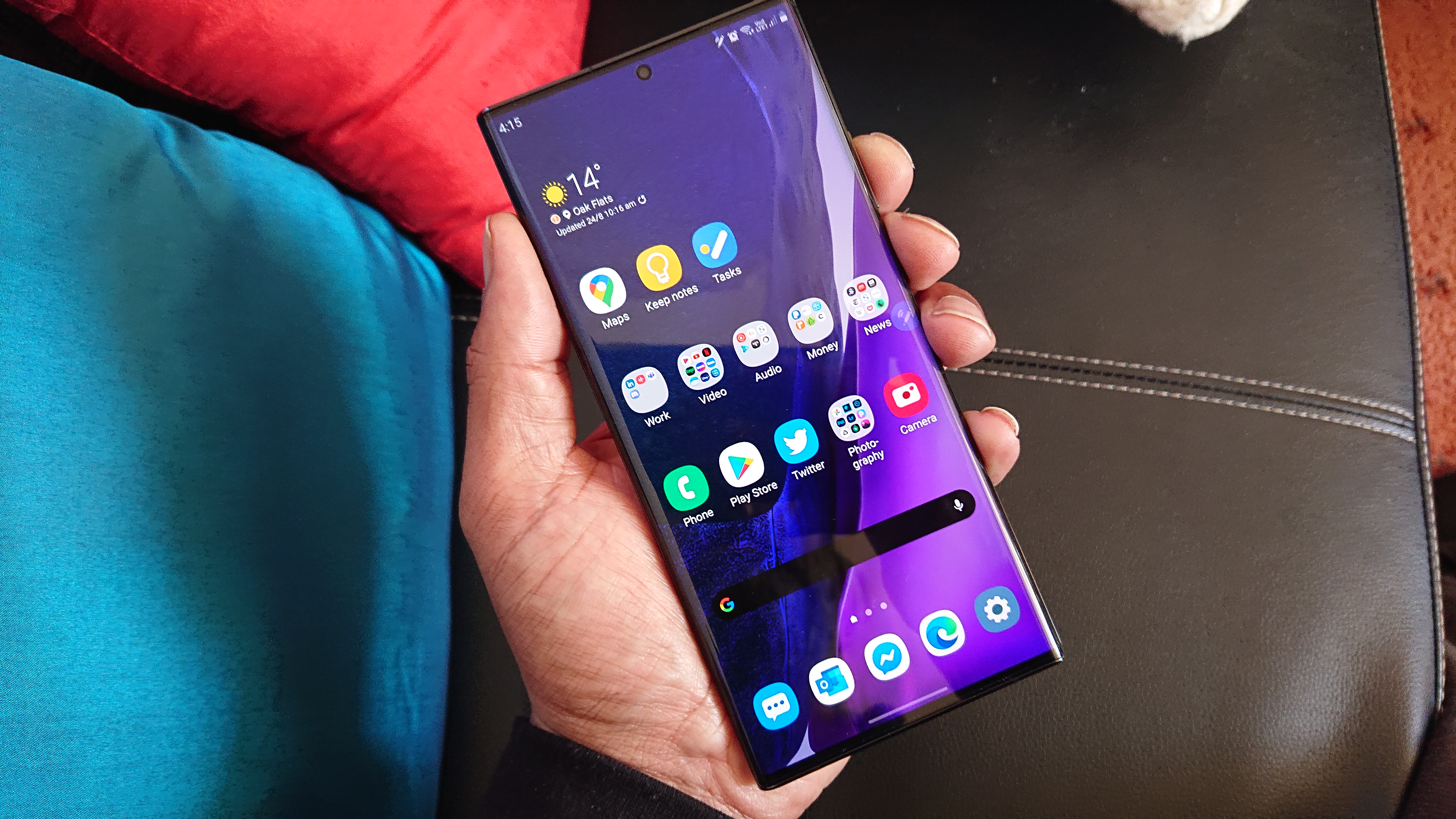 Hands On Samsung Galaxy Note 20 Ultra 5g Exynos Notebookcheck Net News