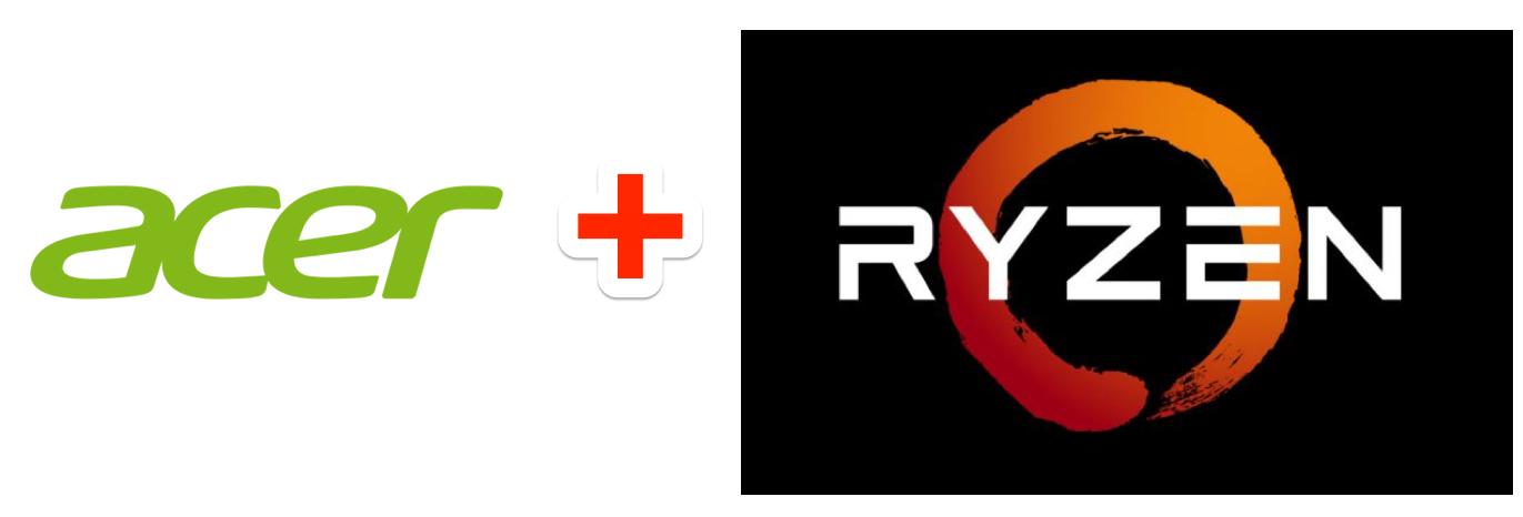 Logos Via Acer And AMD