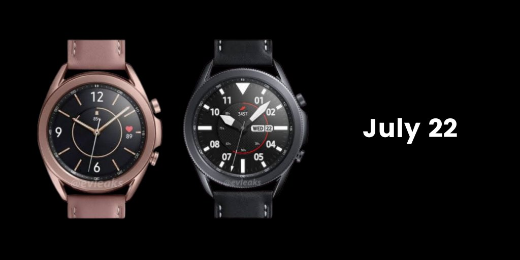 Samsung Galaxy Watch 3 to Launch on July 22, Tipster Hints