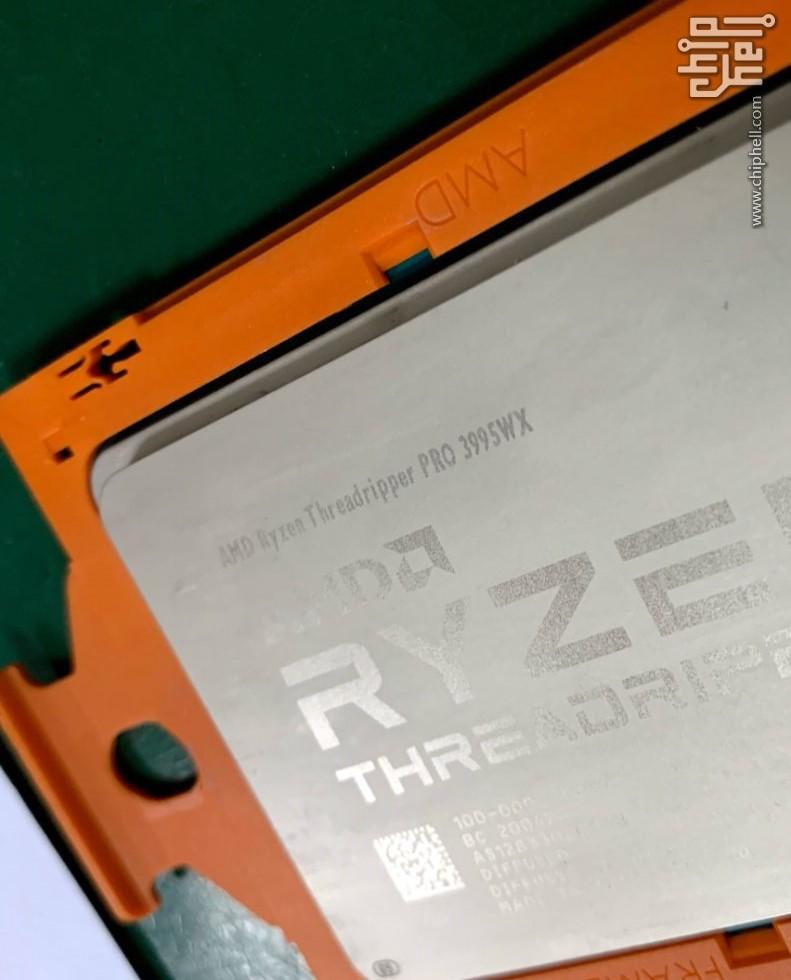 Amd Ryzen Threadripper Pro 3995wx Cpu Sample Spotted In The Wild Might Launch Next Week Notebookcheck Net News