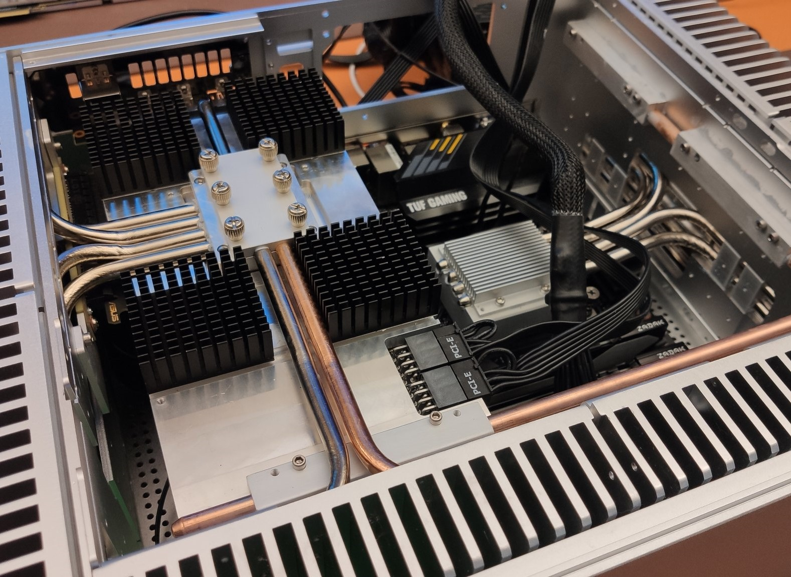 Fanless RTX 3080 spotted inside a silent mini PC build - Notebookcheck.net