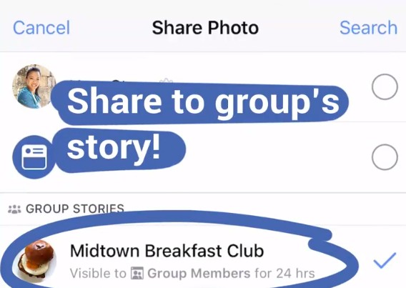 Group Stories rolls out to Facebook users worldwide