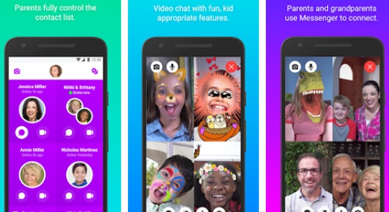 Facebook Messenger Kids Now Available on Android's Google Playstore