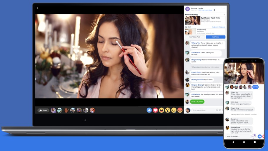 Facebook Watch Party for Groups now available worldwide