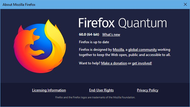 Firefox 60 now available for download with sponsored stories, better