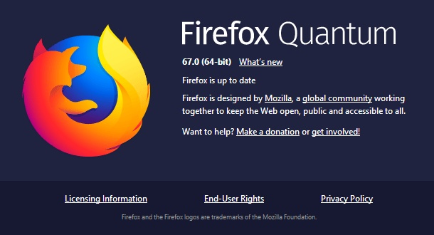 Firefox 67 0 rolls out with WebRender, performance improvements, and