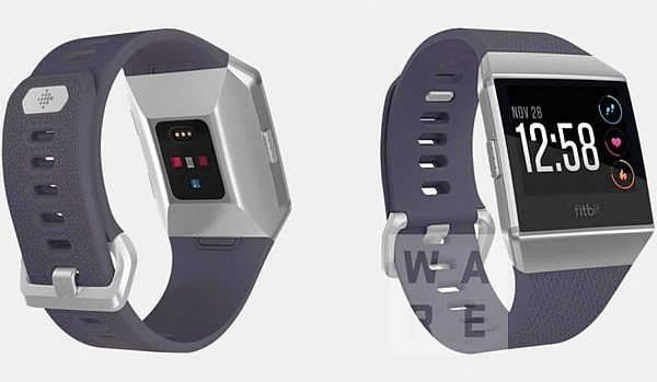 Fitbit Watch smartwatch renders leak online mid August 2017