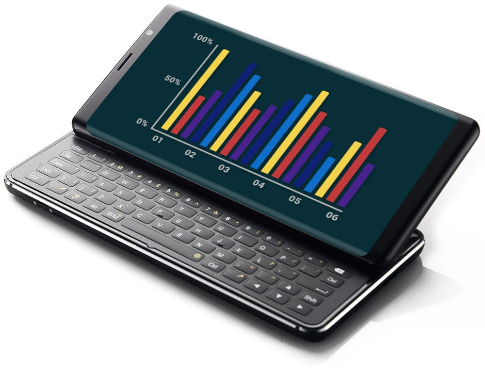 a4e43618b08 The F(x)tec Pro 1 brings slide-out keyboards back to smartphones ...