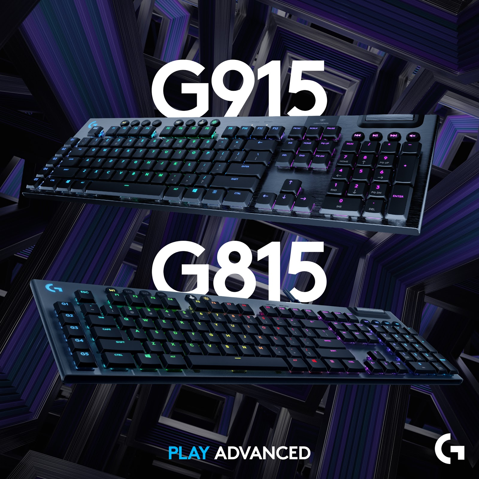 Logitech launches mechanical keyboards with new low-profile
