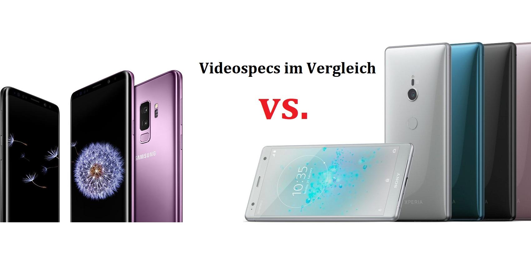 Samsung S9 Vs Sony Xz2