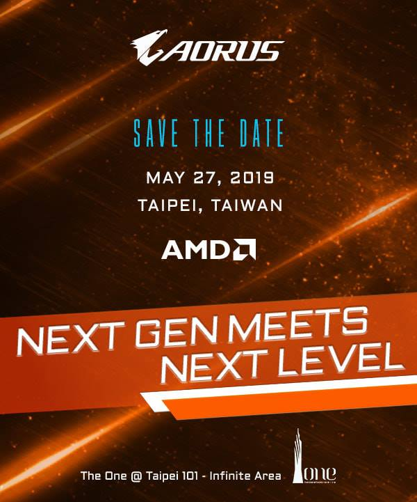 Leaked Gigabyte Aorus X570 promo material points to May 27