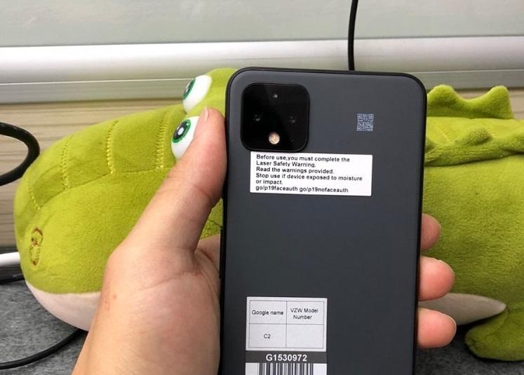 Google Pixel 4 XL Really Gray Prototyp in China70.'